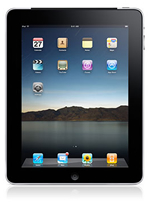 a black Apple iPad 2